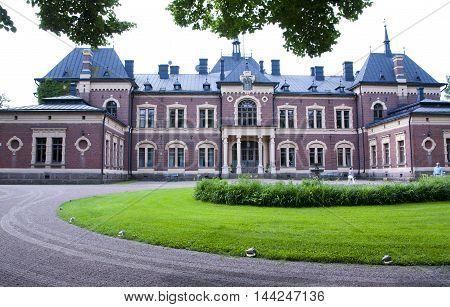Malmgard, Finland. The Manor House at summer.
