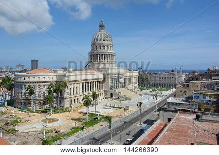 Capitol Building Havana
