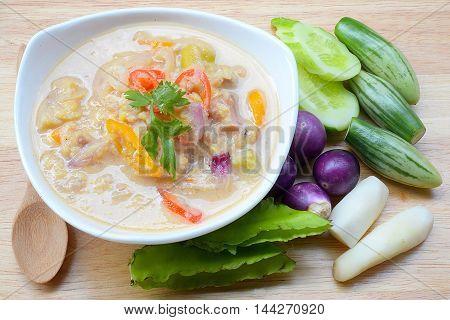 Thai Soy Bean Dipping Sauce (Tao Jiew Lon)