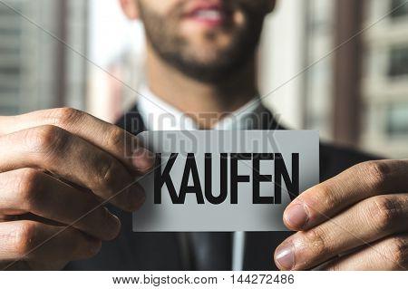 Buy (in German)