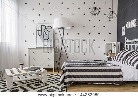 Bedroom With Creative Solutions