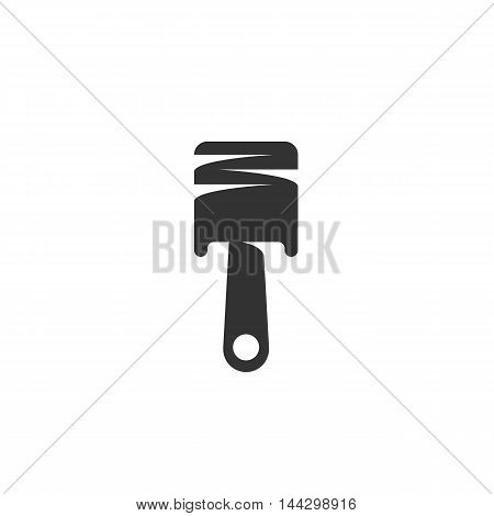 Vector Piston icon isolated on a white background. Piston logo in flat style. Simple icon as element for design. Vector symbol, sign, pictogram, illustration