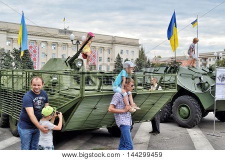 Show Of Army Equipment