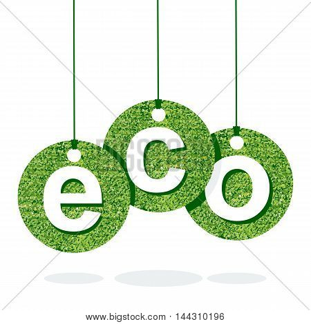 Eco Green Letter