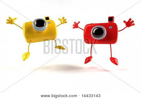 glücklich Kameras