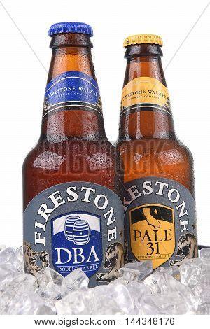 Firestone Ales In Ice Bucket