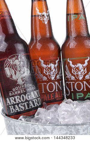 Stone Ales In Ice Bucket