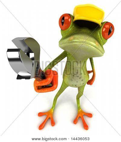 Frog worker