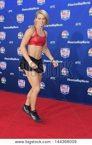 LOS ANGELES - AUG 24:  Jessie Graff at the