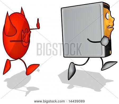 Computer and virus