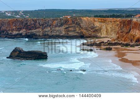Atlantic Ocean Coast View (algarve, Portugal).