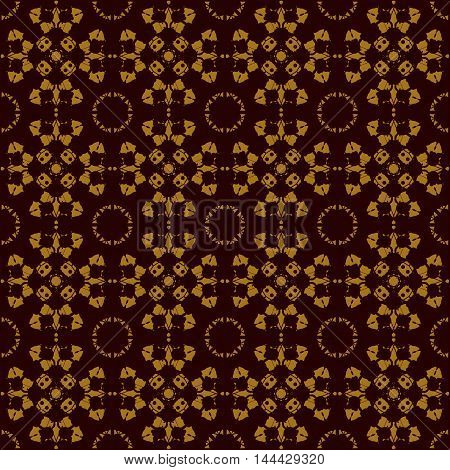 Seamless Symmetry Print Rorschach inkblot test inspired . Abstract seamless pattern. For fabric, wallpaper, print, warping paper.