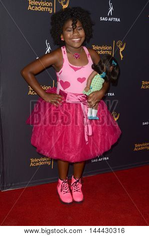 LOS ANGELES - AUG 25:  Trinitee Stokes at the 4th Annual Dynamic & Diverse Celebration at the TV Academy Saban Media Center on August 25, 2016 in North Hollywood, CA