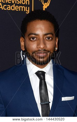 LOS ANGELES - AUG 25:  Shaun Brown at the 4th Annual Dynamic & Diverse Celebration at the TV Academy Saban Media Center on August 25, 2016 in North Hollywood, CA