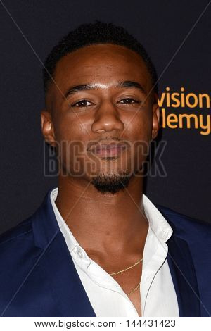 LOS ANGELES - AUG 25:  Jessie T. Usher at the 4th Annual Dynamic & Diverse Celebration at the TV Academy Saban Media Center on August 25, 2016 in North Hollywood, CA