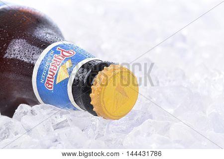 Pyramid Hefeweizen On Ice Closeup