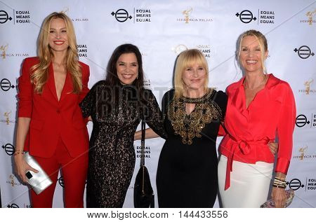 LOS ANGELES - AUG 26:  Petra Nemcova, Kamala Lopez, Patricia Arquette, Nicolette Sheridan at the