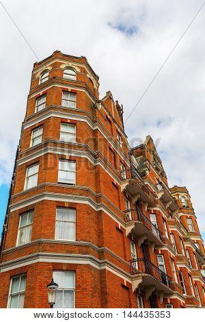 Old Buildings In Kensington, Uk