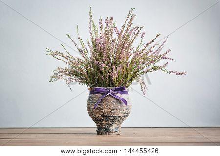 Heather In Vase