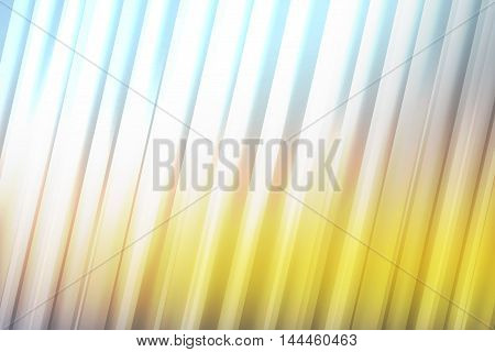 White light rays over blue gold blend to create abstract background
