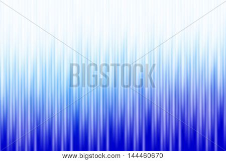 Blue and white blurred rays of light blend to create abstract background