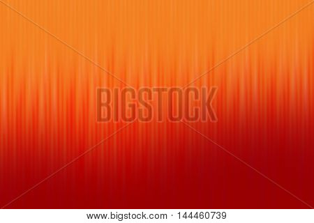 Orange and red blend to create abstract background