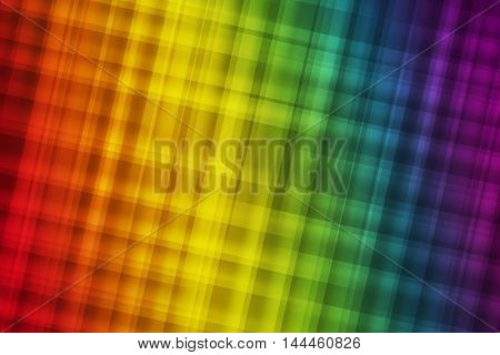 Gay pride colors blend to great abstract background
