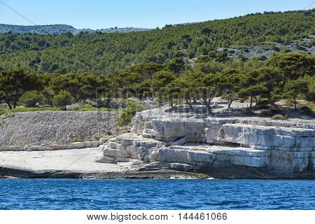 The Calanques of Cassis in South France Provence