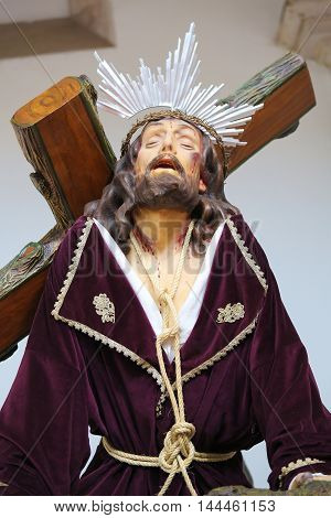 Jesus On The Via Dolorosa - Aveiro Cathedral, Portugal