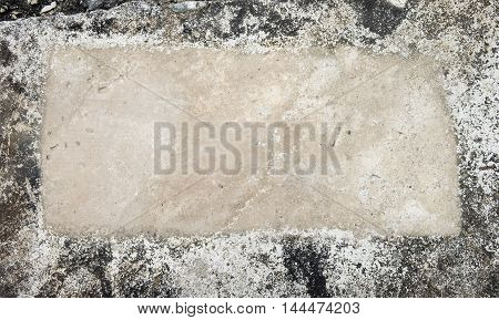 copy space of old grunge cement textures background