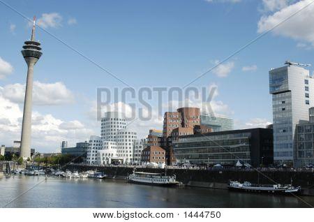 Dusseldorf Mediaharbor Germany