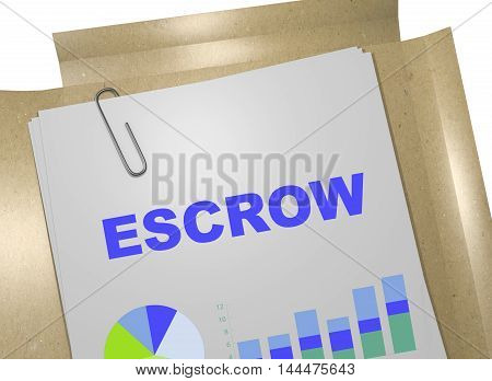 Escrow - Business Concept