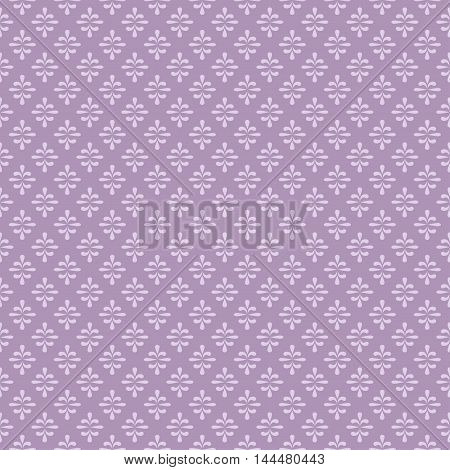 Wallpaper in the romantic style. Seamless background. Damask floral pattern.