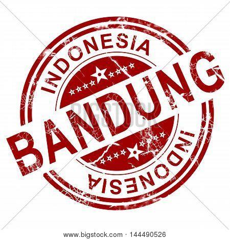 Red Bandung Stamp