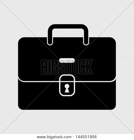 Black Office Briefcase