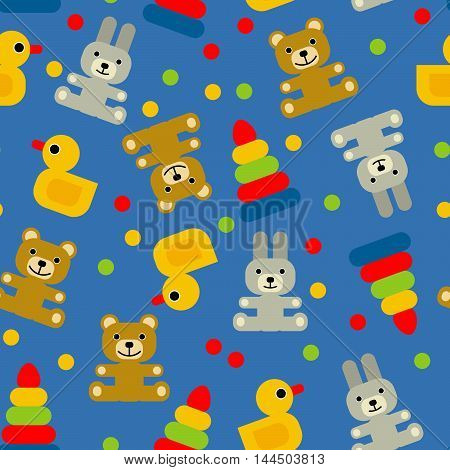 background for kids with different kind of toys