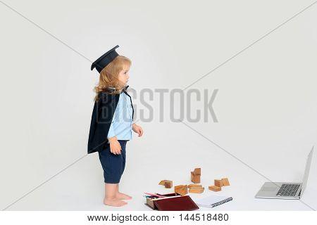 Little Boy In Mantle