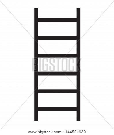 ladder icon vector, Step ladder vector icon