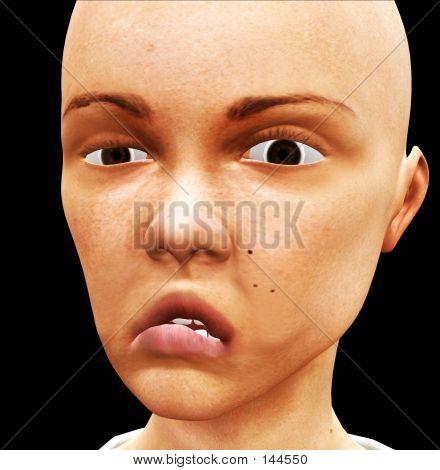 Girl Face 2