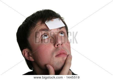 Blank Forehead Three