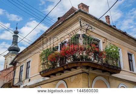 Tenement house in Cluj-Napoca city in Romania