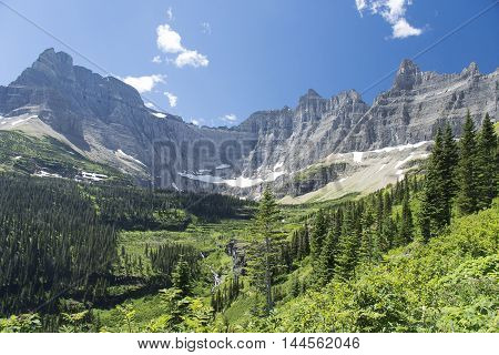 Iceberg Lake Trail - Glacier National Park