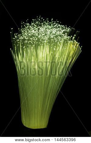 Internet technology fiber optic background