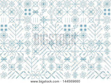 GEOMETRIC ELEMENTS PATTERN BACKGROUND.