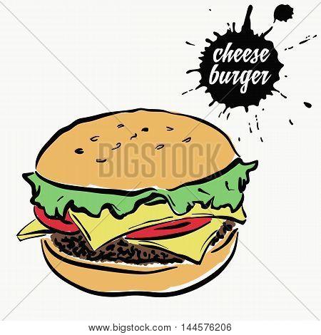 cheeseburger fast food cheeseburger ingredient, original burger recipe