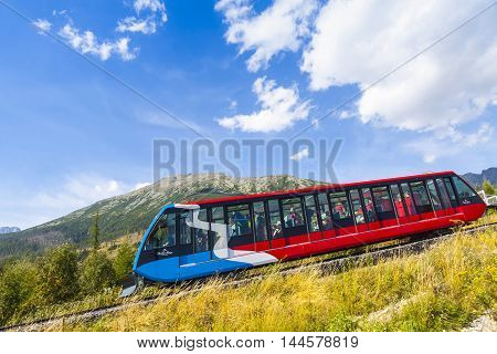 Cable Railway In High Tatras, Slovakia