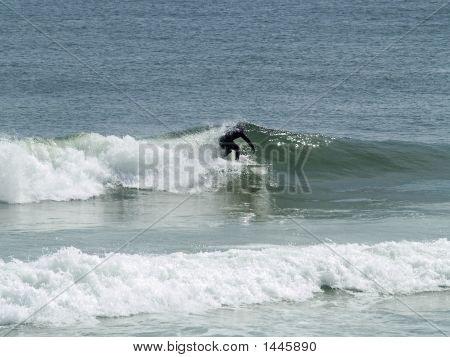 Wet-Suit Surfer