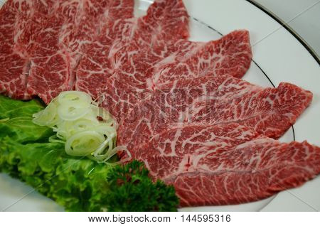beef, close, cow, dining, food, fresh, freshness, gourmet, grill, hot, japan, japanese, kobe, meat, raw, red, roast, sirloin, slice, steak, traditional, up, wagyu, white