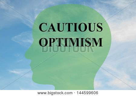 Cautious Optimism - Mental Concept