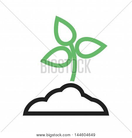Plant, tree, planting icon vector image. Can also be used for farm. Suitable for use on web apps, mobile apps and print media.